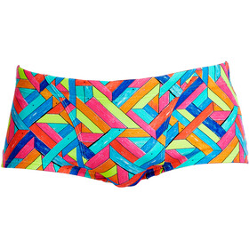 Funky Trunks Classic Boxer de bain Homme, panel pop